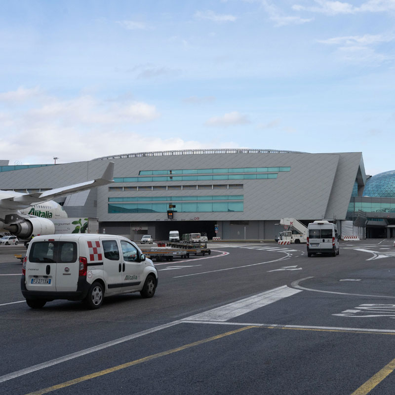 Realizzazione opere edili per la costruzione del Nuovo Molo e dell'Avancorpo T3- Aeroporto Leonardo Da Vinci.