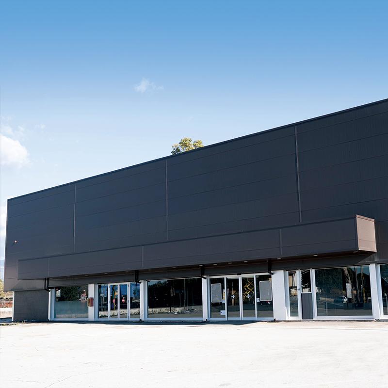 Costruzione magazzino ed uffici per deposito alimentare Latina.