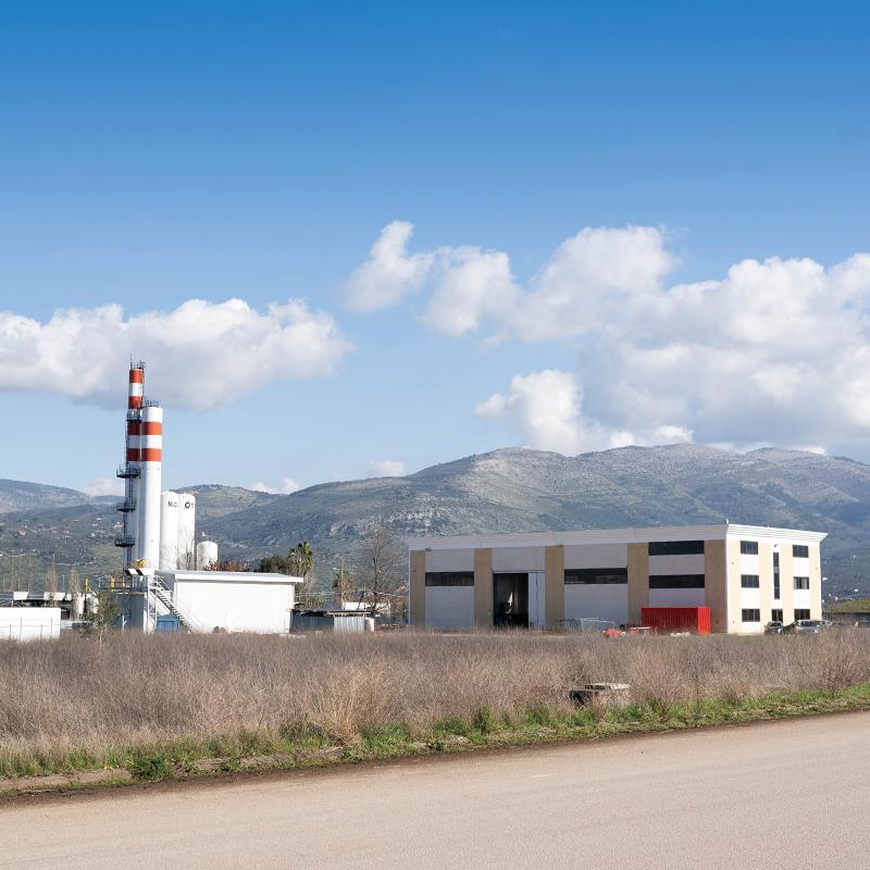 Costruzione di un complesso industriale produzione di gas criogenici liquidi.